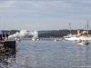 Kongeskibet Dannebrog ankommer til Aabenraa havn